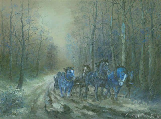 Josef Thoma - Pferde
