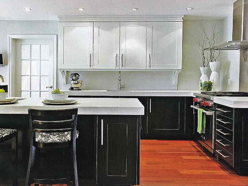 2 Color Kitchen Cabinets Pictures Two Toned Cabinetstwo A