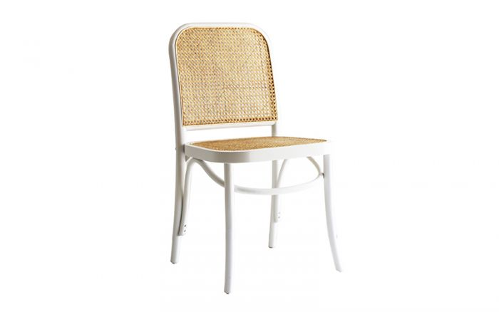 Belmont Bentwood Chair Birch White Oz Design Furniture