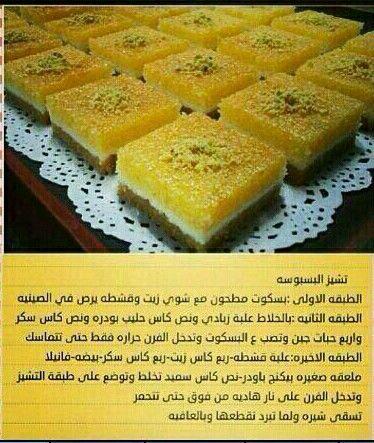 تشيز بسبوسة Food Desserts Healthy Dessert