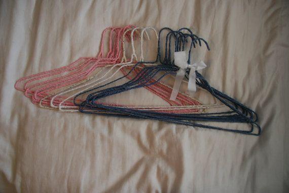 12 Brandy Melville Handmade Fabric Hangers By Amberpopma On Etsy