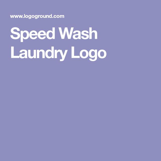 Exclusive Logo 15737 Speed Wash Laundry Logo