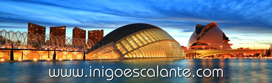 Ciudad de las artes y las Ciencias de Valencia - City of Arts and Science