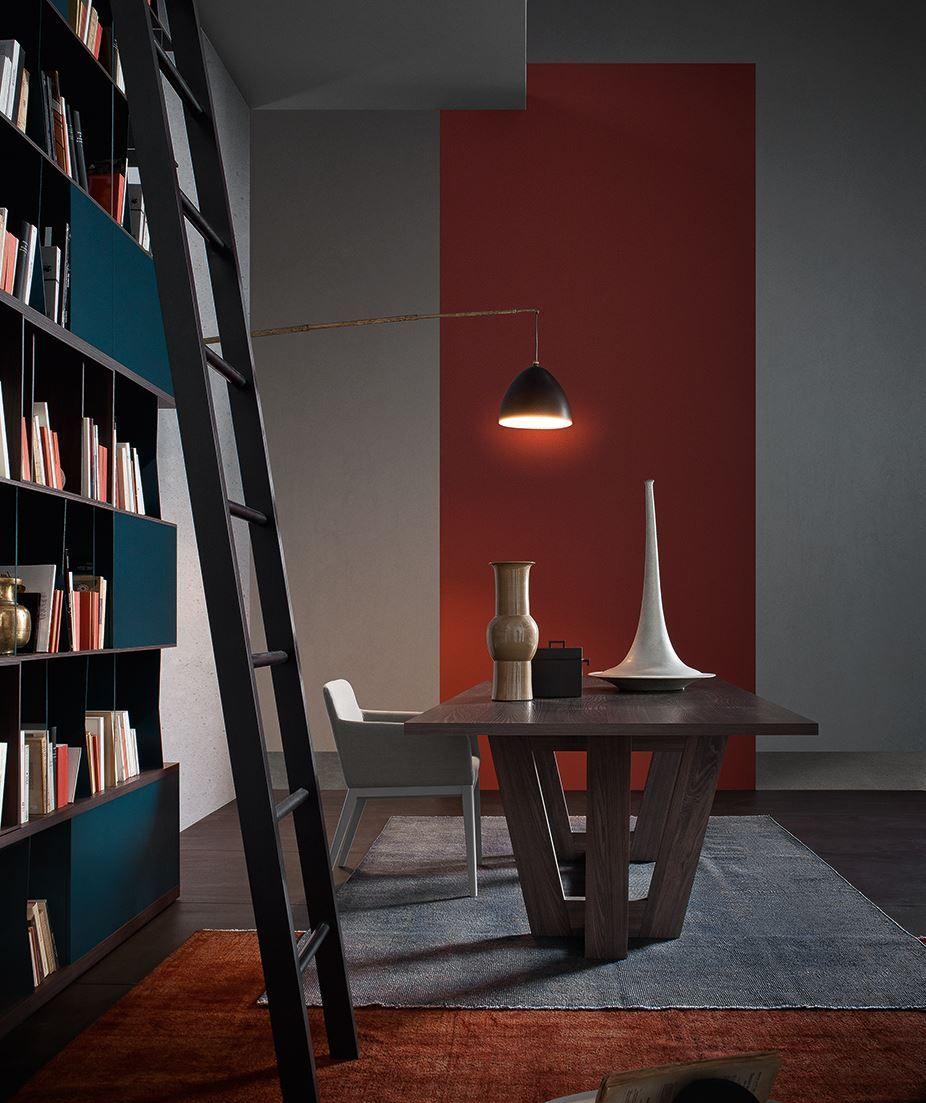 Bibliotheque Salon Bleue Meuble Salon Mobilier De Salon Salon