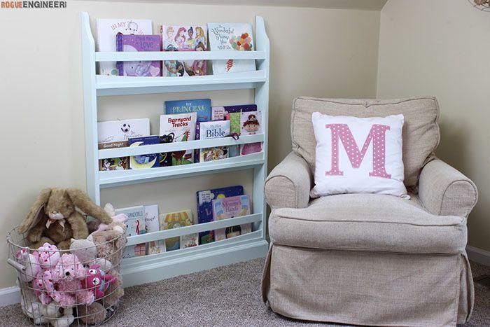 Childrens Wall Bookshelf