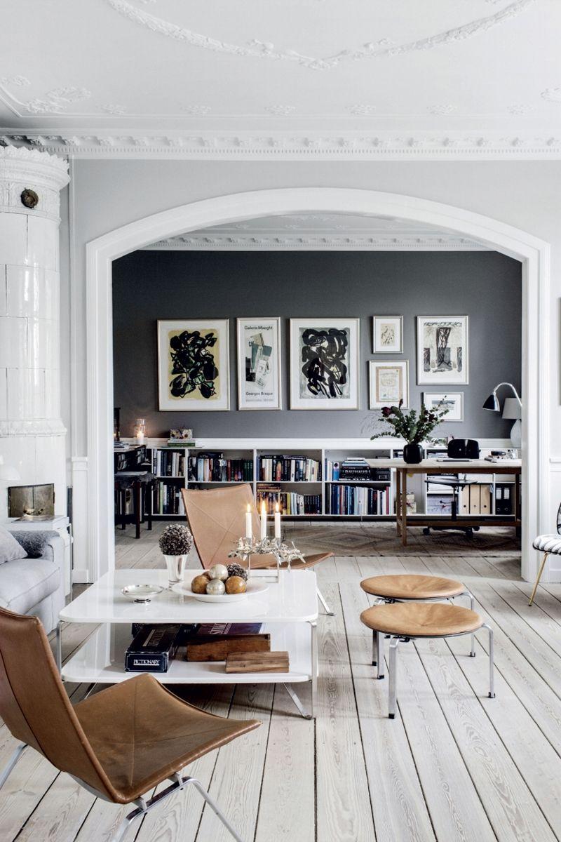 5 Home Pinterest Trends For Fall We Adore The Chriselle Factor Living Room Scandinavian Interior Modern Room