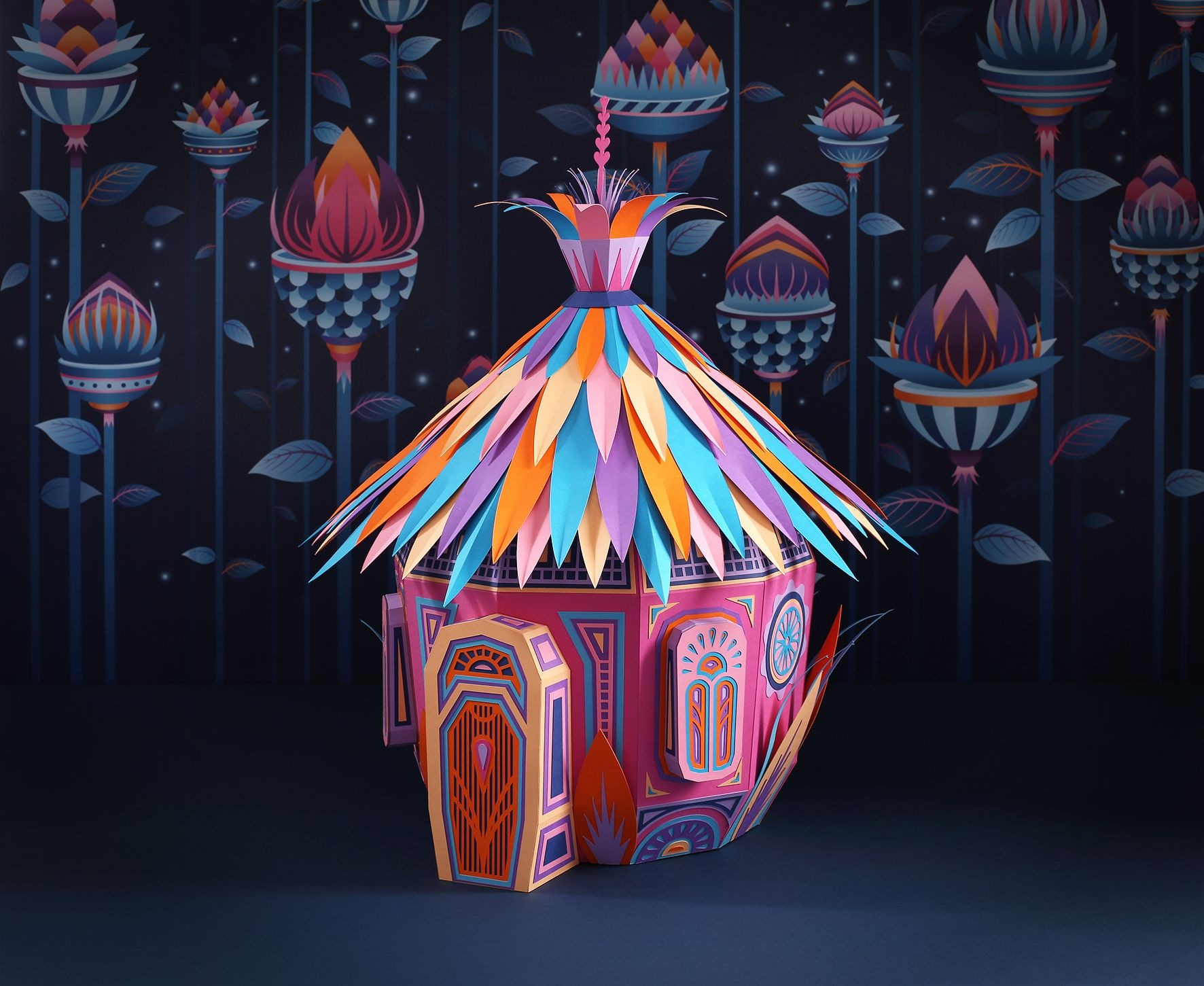 Color art dubai - Fantastic Miniature Worlds Of Nature Bursting With Color For Herm S Window Display In Dubai Floral