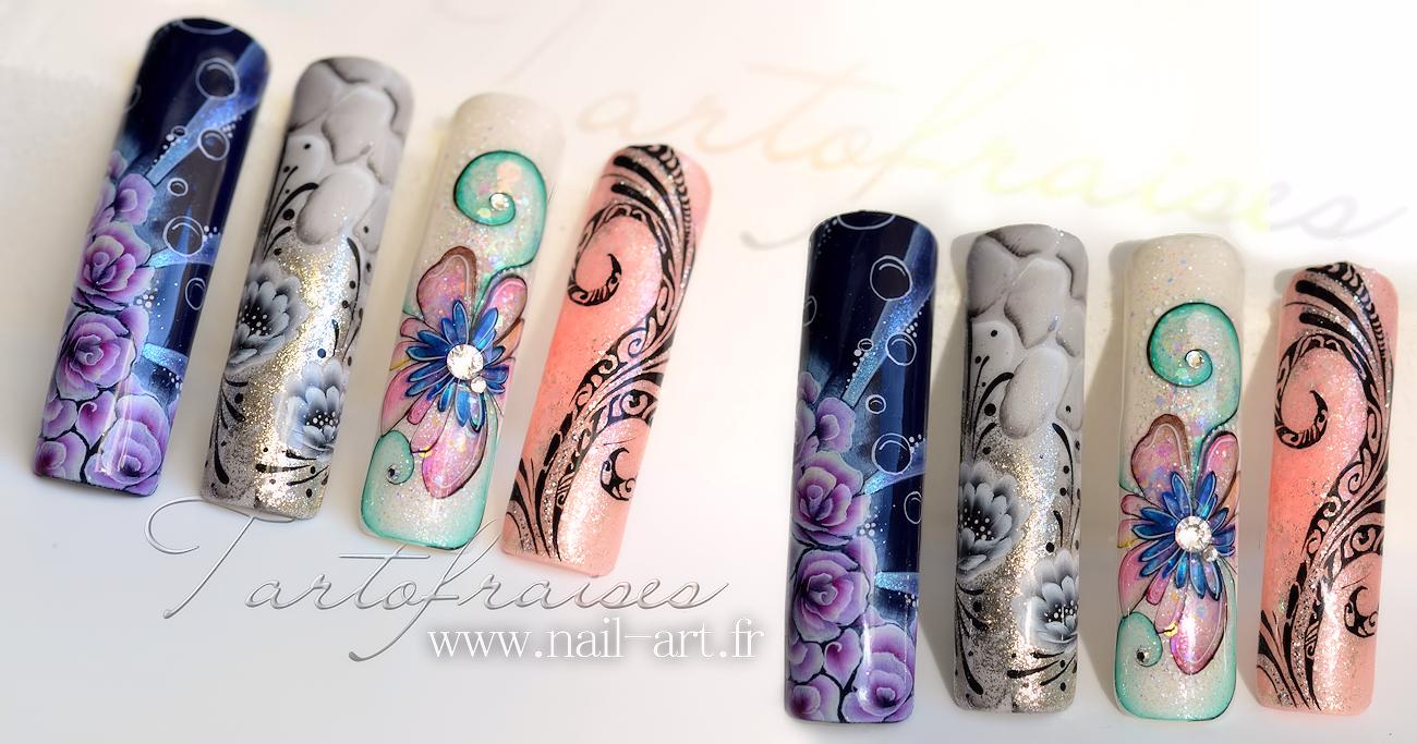 http://www.nail-art.fr/idee-nail-art-capsule-4d-3d-one-stroke ...