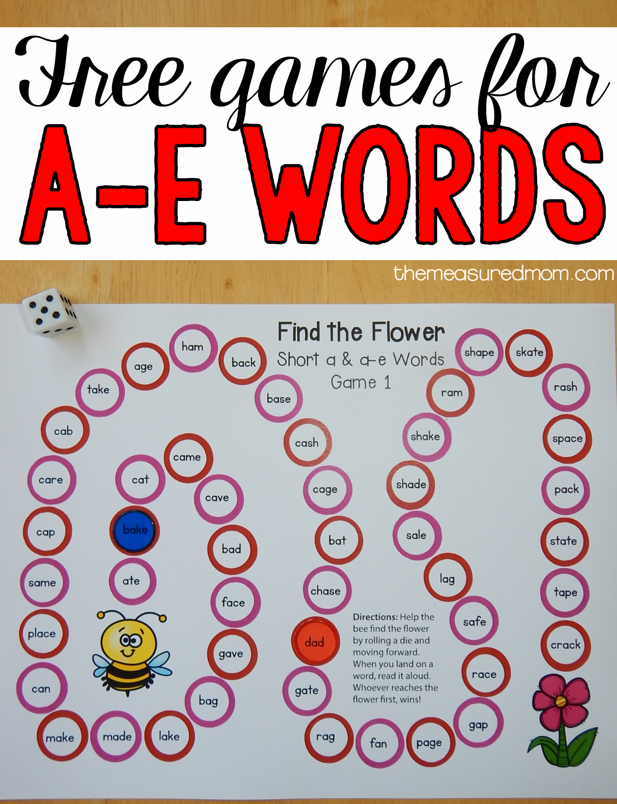 Free Games For Learning A E Words