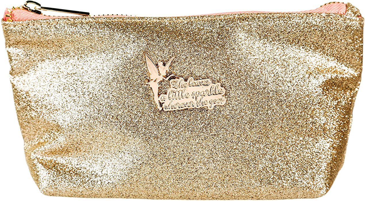 Disney Tinker Bell Glitter Make Up Bag