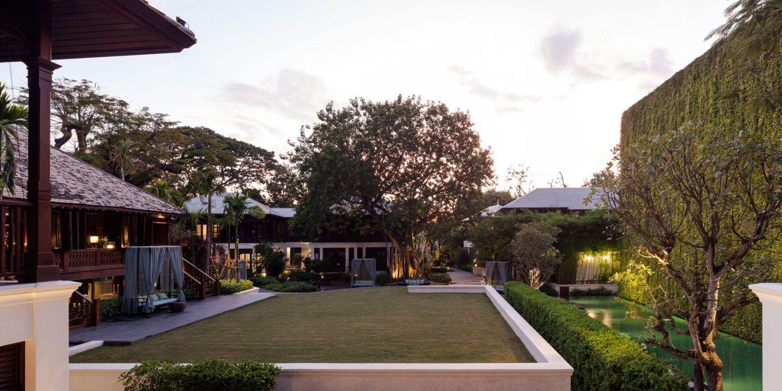 137 Pillars Hotel Landscape Design I By P