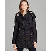 Burberry Brit Finsbridge Long Quilted Coat Bloomingdale S Long Quilted Coat Quilted Coat Quilted Jacket Outfit