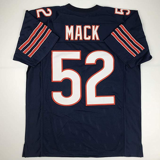 05e0355c774 Unsigned Khalil Mack Chicago Blue Custom Stitched Football Jersey Size  Men's XL New No Brands/Logos #ad #football #jersey #mack #chicago #bears # men #nfl