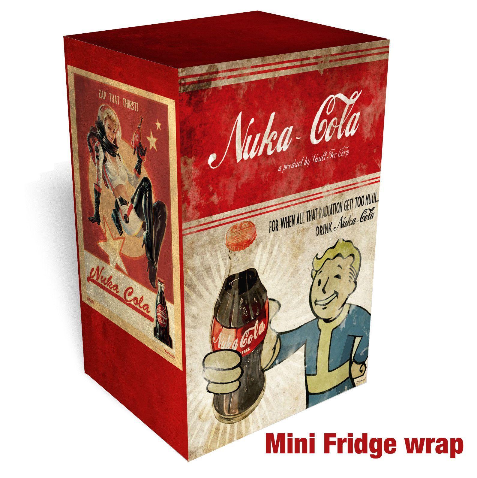 Nuka-Cola - Fallout Mini Fridge Wrap