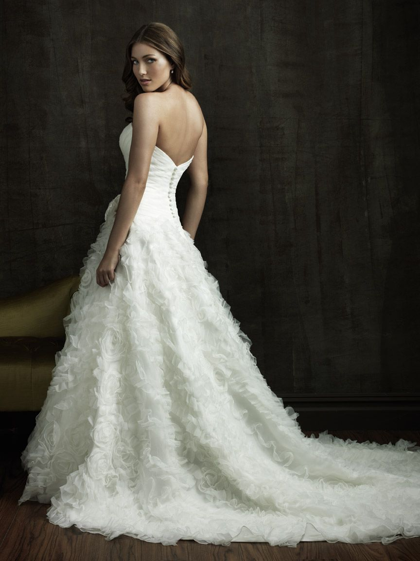 Pre owned wedding dress  Allure Bridals  Allure Bridal Elaineus Wedding Center Green Bay
