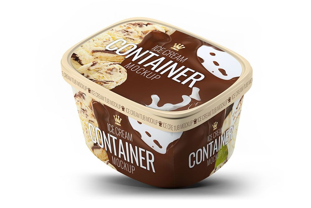 Download This Free Ice Cream Gallon Mockup In PSD ...