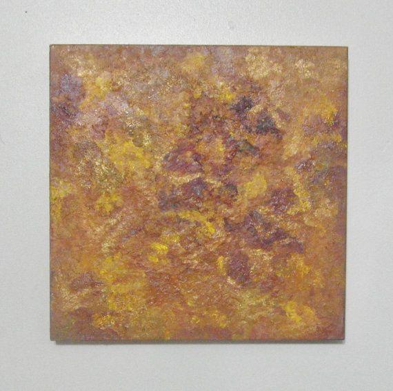 Abstract art  Sensing  encaustic painting  by SumertaDesigns