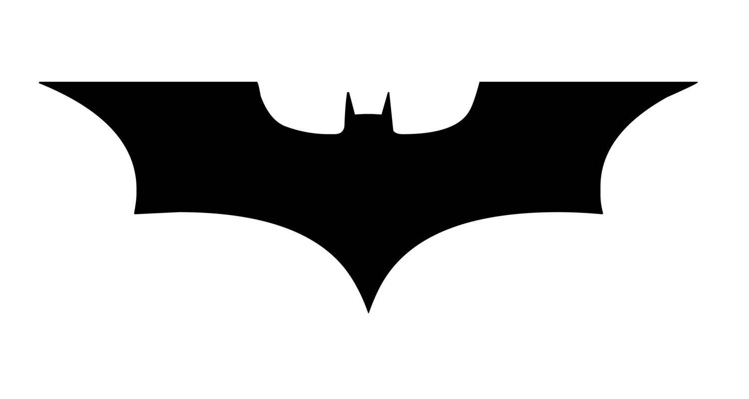 Large Dark Knight Batman Logo Wall Decor Sticker FREE SHIPPING VI00011 1699 Via