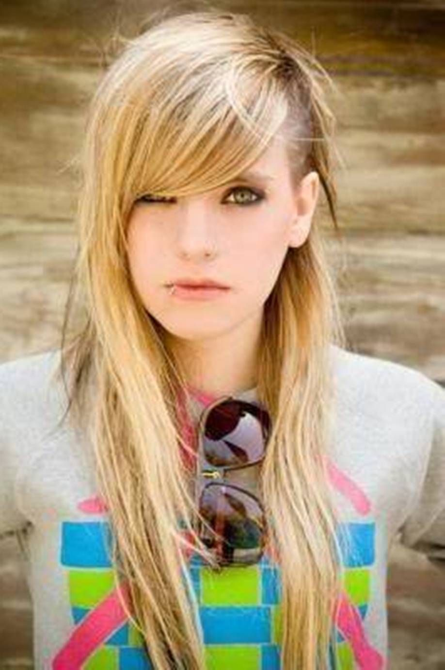 Layered Side Shaved Rocker Hairstyles For Women Hair