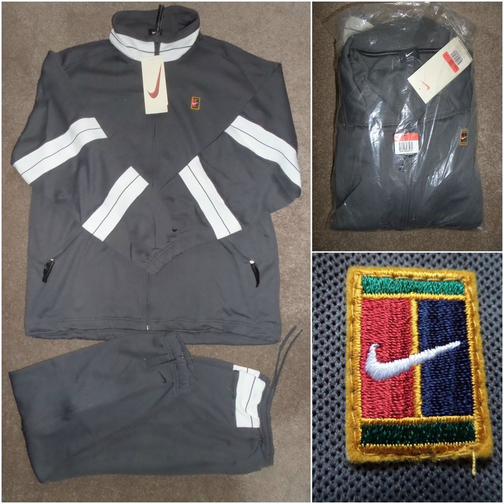 80'S 90'S Reebok Leather Varsity Tennis Jacket