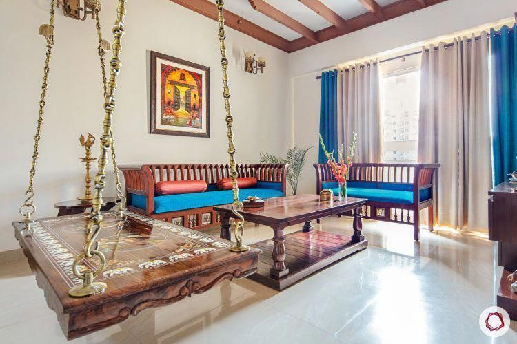 Combination Decorating Dining Diningroomdecorating Living Combination Decorating Dining Diningroomdeco In 2020 Indian Home Decor Indian Living Rooms Room Swing Living room means in hindi