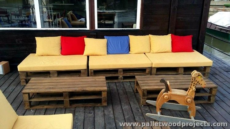 Recycled Pallet Patio Furniture Plans