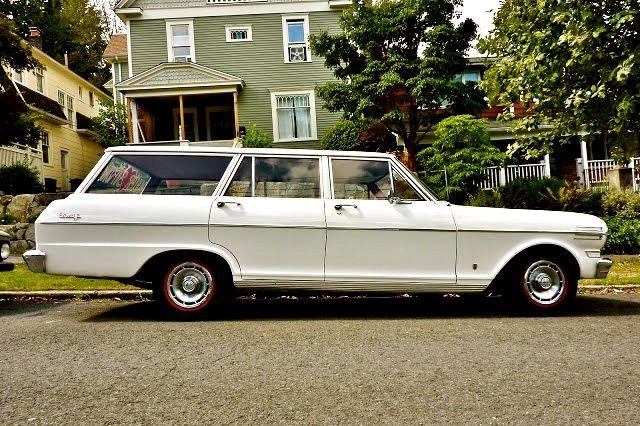 1962 Chevy Ii Nova Wagon Chevy Nova Chevy Nova Wagon Chevy