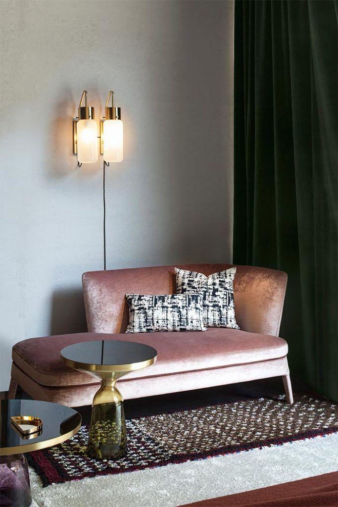 El rosa no es (solo) cosa de chicas: 20 sofás rosa que lo demuestran ...