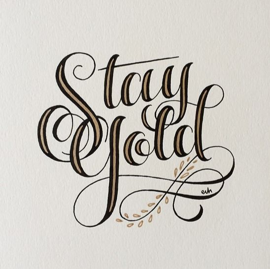 What Page Number Is The Quote Stay Gold Ponyboy On: Friday's Typographic Treats (098)