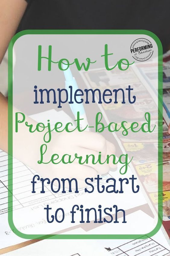 Learn how to implement Project-based Learning from start to finish ...