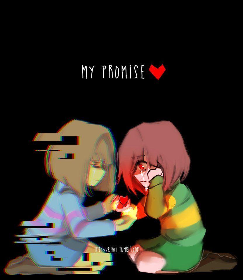 Promise (Glitchtale) by kiacii- on @DeviantArt