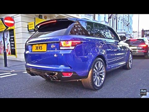 New Range Rover Sport SVR 550 hp V8 FULL REVIEW test driven Nürburgring racetrack - Autogefühl - YouTube