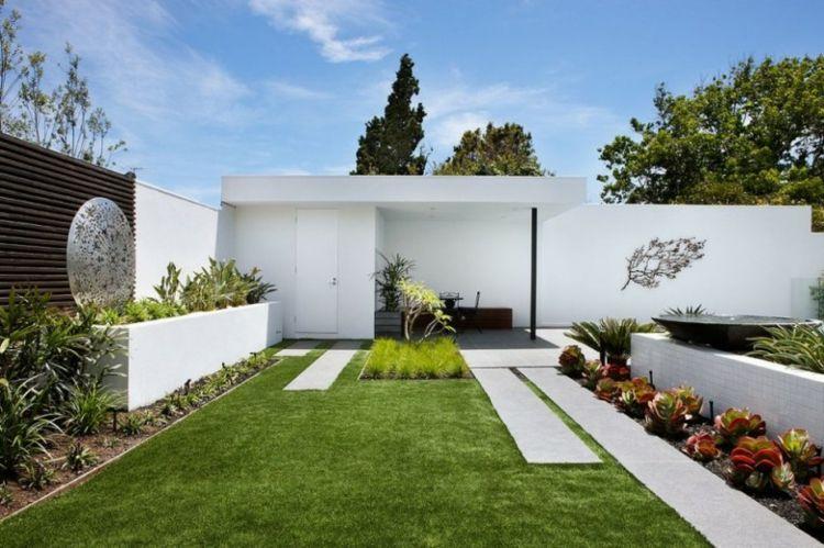 originales diseños jardines decoracion deco | casas coloniales