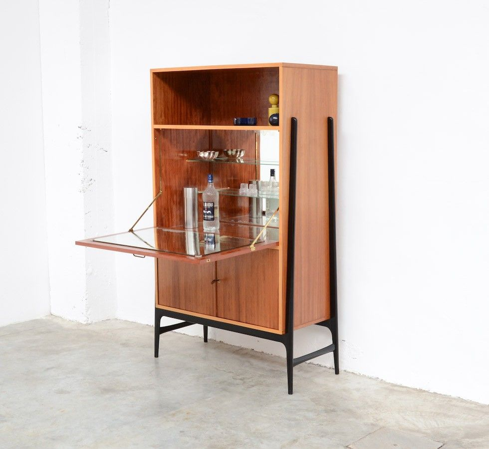 Vintage High Bar Cabinet By Alfred Hendrickx For Belform
