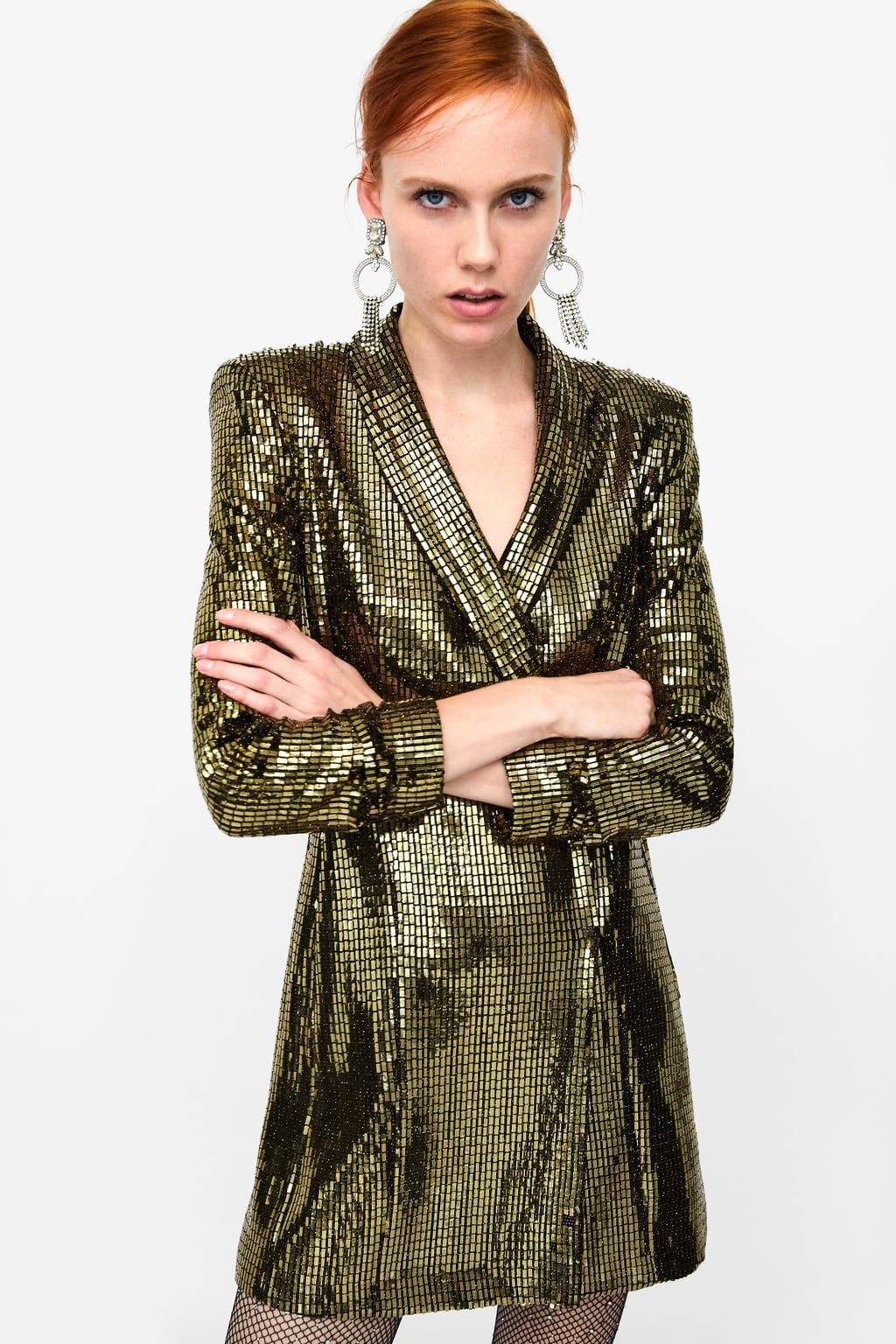 0f0d0edc Blazer dress in 2019 | Paris Art Opening | Sequin dress, Dresses ...