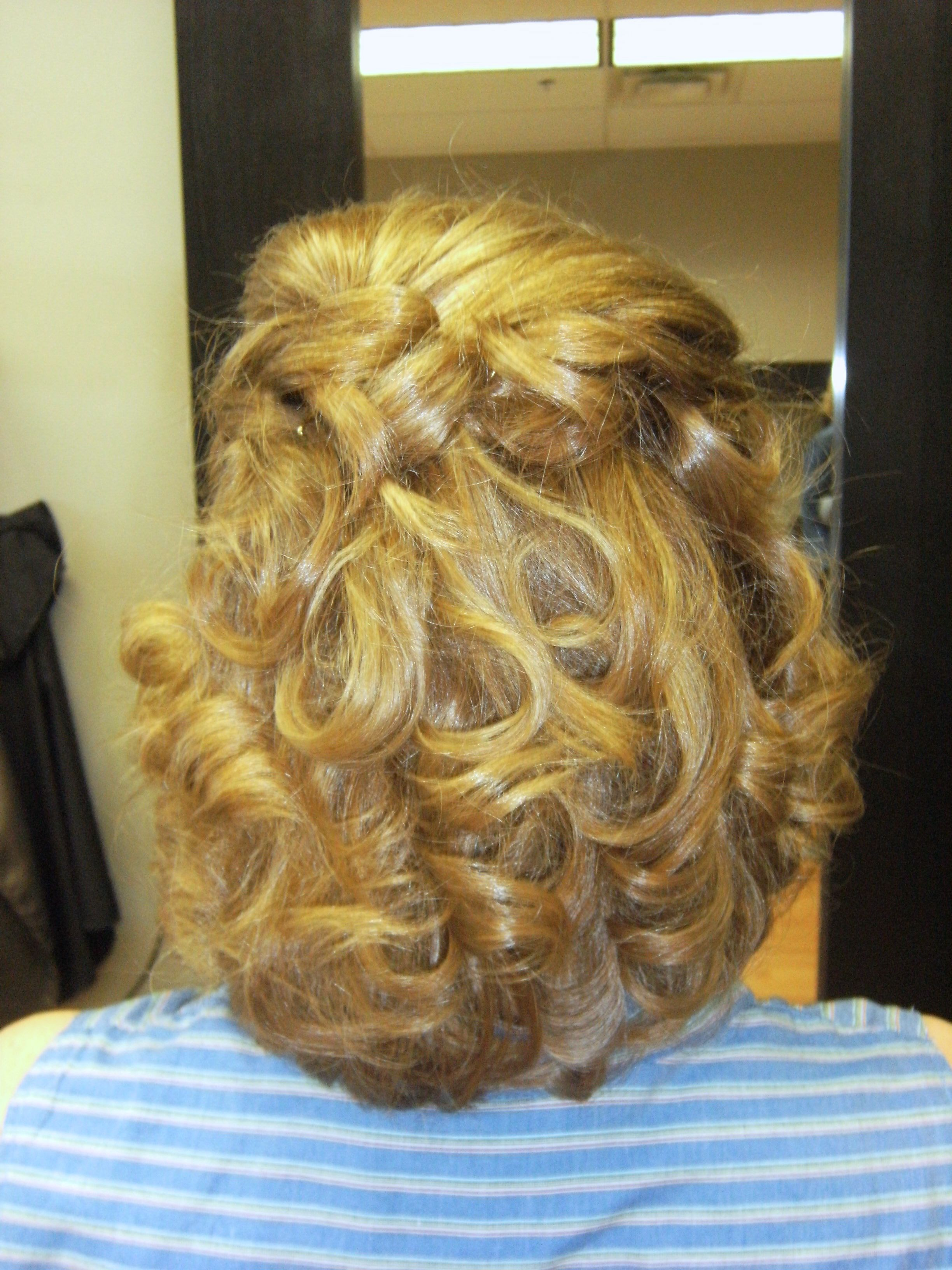Mother Of The Groom Done By Me Medium Hair Styles Medium Length Hair Styles Hair Styles