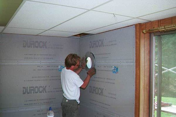 Woodstove Install In Basement Thru Wall Thimble Install