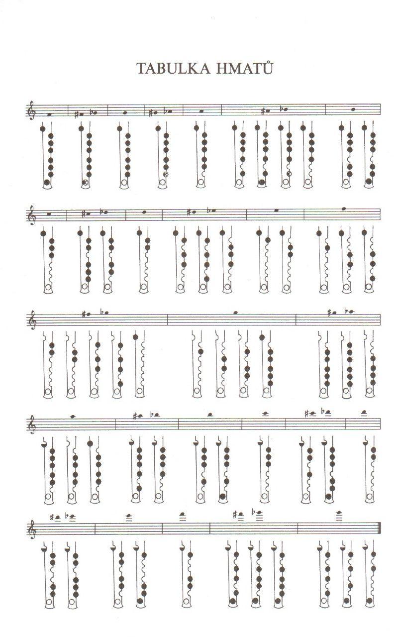 Jak se naučit hrát na altovou zobcovou flétnu a podle čeho - Hudba ...