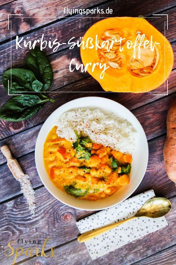 Kürbis-Süßkartoffel Curry #herbstgerichte