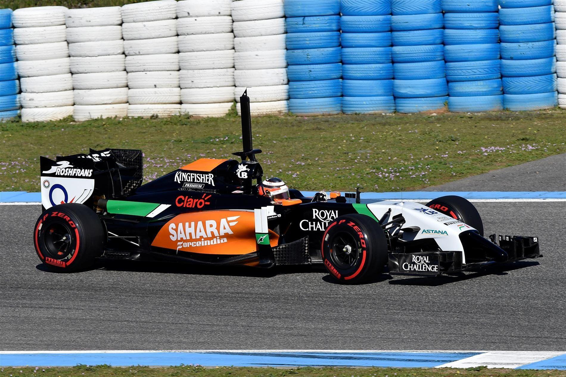 formula 1 car | Download Force India's VJM07 2014 Formula ...
