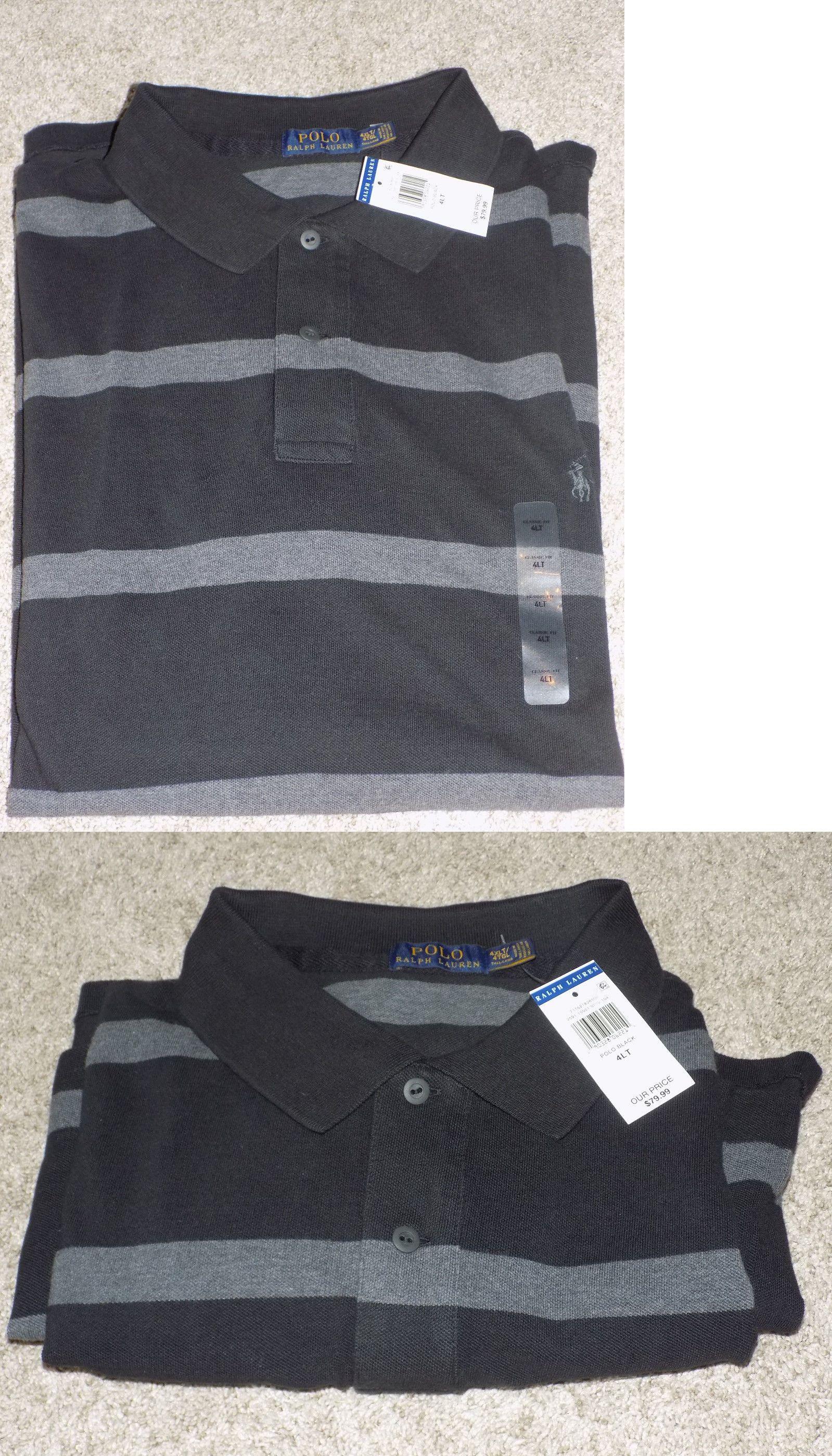 Ralph Lauren Women Black Mesh Short Sleeved Polo