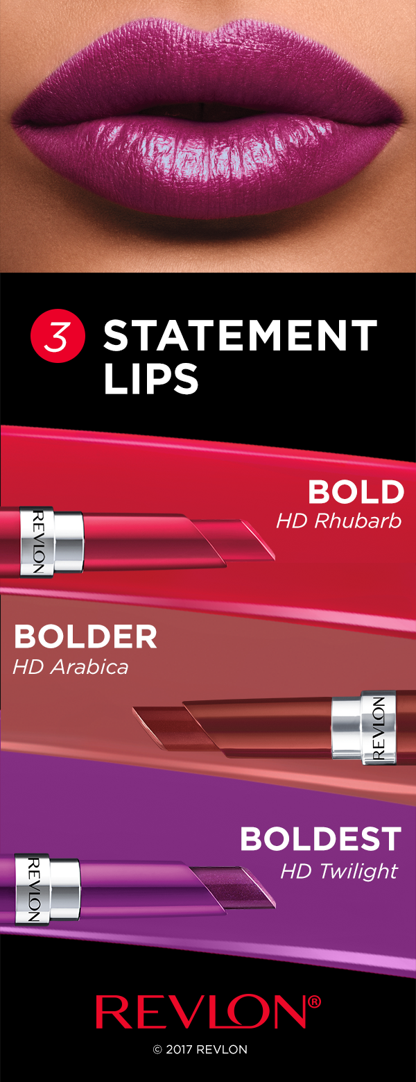 You don't need a special occasion for a statement lip
