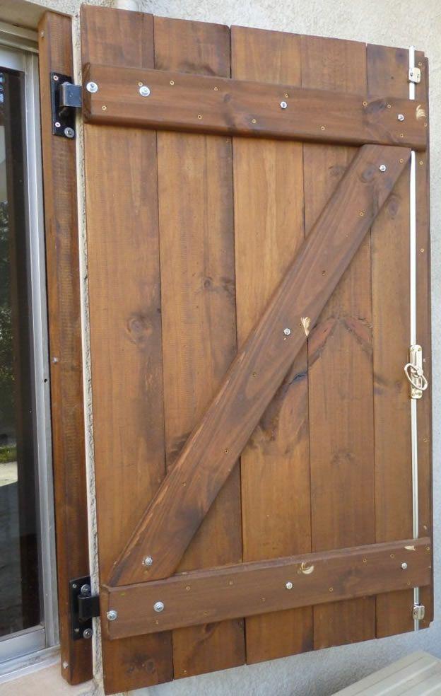 Postigones para ventanas casa pinterest ventana - Hacer una ventana de madera ...