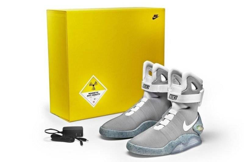 Nike Air Mag Marty Mcfly 8 Limited Edition 2011 DS NIB back to the future  jordan