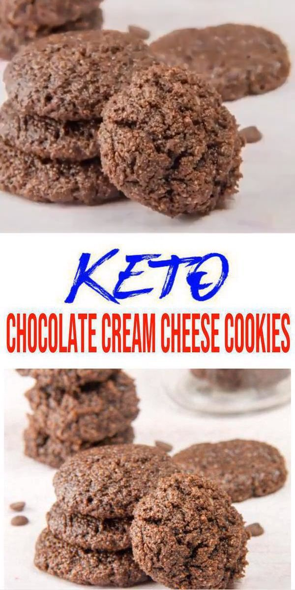 BEST Keto Cookies! Low Carb Chocolate Cream Cheese Cookie Idea – Quick & Easy Ketogenic Diet Reci