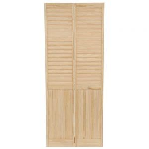 No Panel Solid Wood Interior Doors