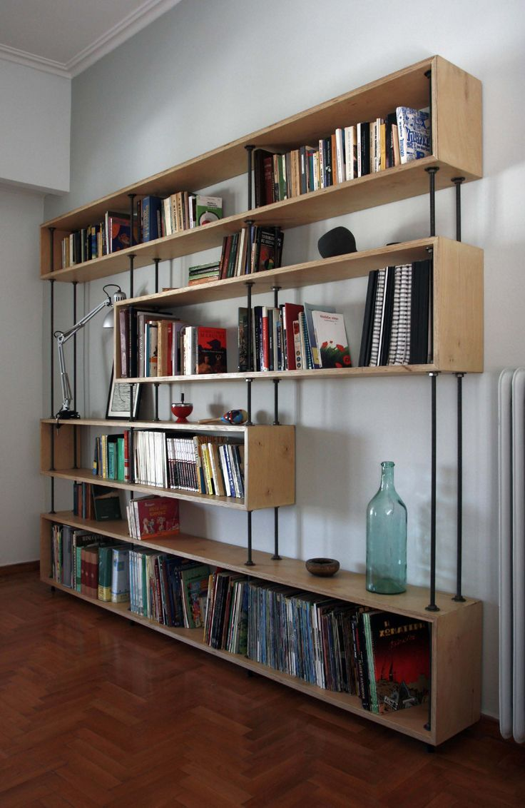 Bookshelves color - White Wall Color Interior Design On Small Spaces