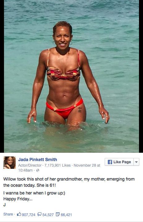 Jada Pinkett Smiths 61 Year Old Mother Has A Bangin Bikini Body