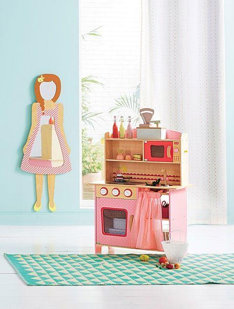 Miroir enfant personnage fille - Bois/multicolore - 2 | Ahmed chaari ...
