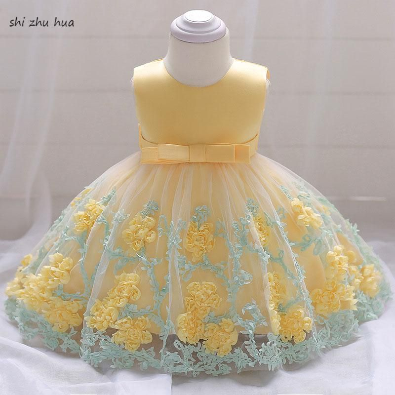 1eb517e767c5 Girl s clothes dress baby birthday party vestidos summer princess ...